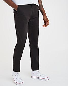 Black Slim Stretch Chino