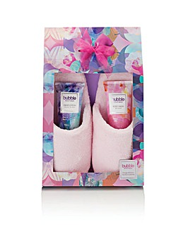 S&G Bubble Boutique Slipper Set