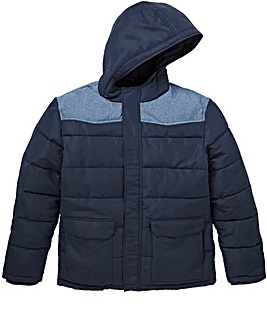 W&B Navy Padded Jacket Regular