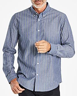W&B Blue Stripe Long Sleeve Shirt R