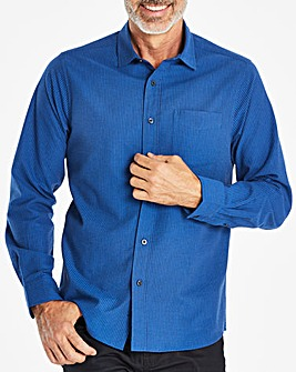 W&B Blue Seersucker Shirt R