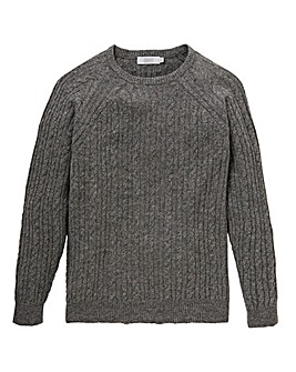 W&B Lambswool Cable Jumper R