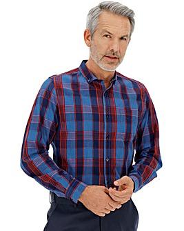 Multi Check Long Sleeve Gingham Shirt
