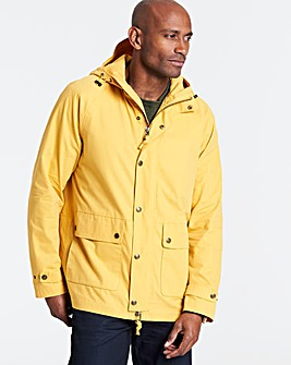 Mustard Hooded Jacket Regular