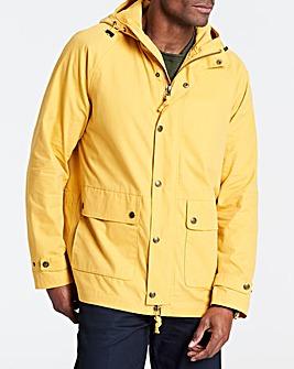 Mustard Hooded Jacket Regular