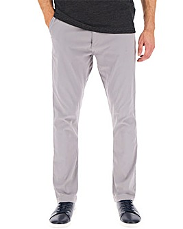 Grey Chino Trousers 31in