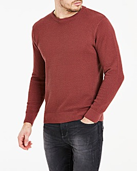 Berry Crew Neck Jumper Regular