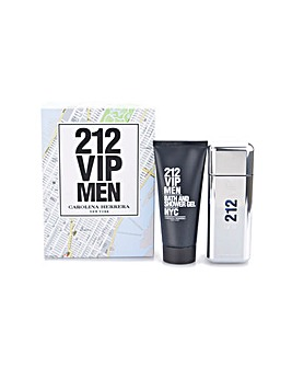 212 VIP Men EDT Spray & Shower Gel