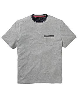 Grey Short Sleeve Pocket Tee