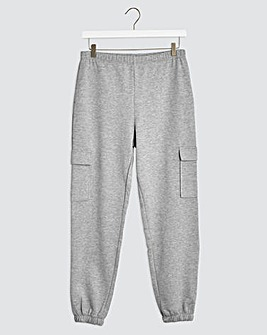Grey Marl Utility Pocket Jogger