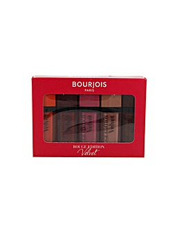 Bourjois Rouge Velvet Lipstick 5pc Set