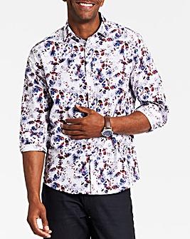 Long Sleeve Print Shirt Regular