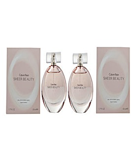 Calvin Klein Sheer Beauty EDT For Her