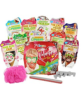 7th Heaven Valentine Face Mask Gift Set