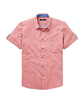 Red Design Oxford Shirt