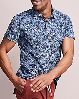 Paisley Polo Shirt