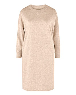 Oatmeal Marl Sweatdress