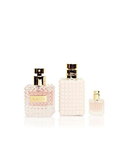 Valentino Donna 50ml EDP 3pc Giftset