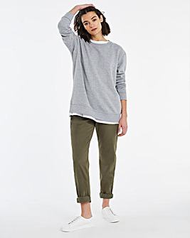 Pure Cotton Lightweight Casual Trousers