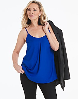 Cobalt Strappy Cami Top
