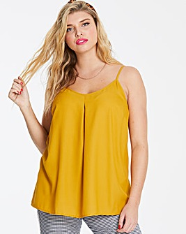 Ochre Strappy Cami Top