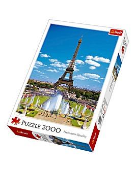 2000pc Eiffel Tower Puzzle