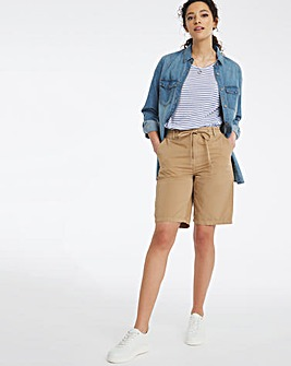 Camel Pure Cotton Shorts