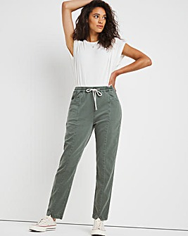 Premium Cotton Lyocell Mix Tapered Jogger