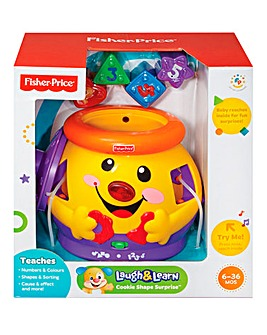 Fisher Price Cookie Shape Surprise Jar
