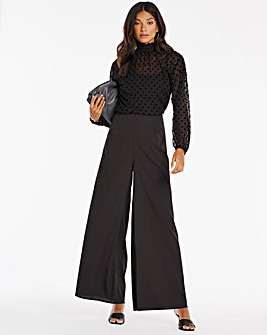 Palazzo Wide Trousers Regular