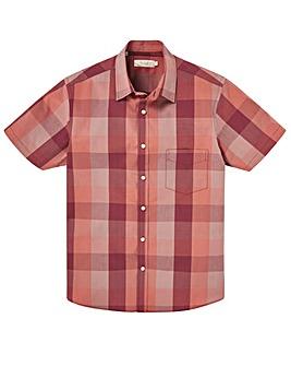W&B Rust Short Sleeve Check Shirt