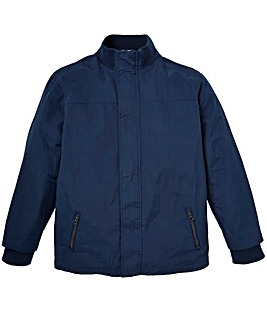 W&B Navy Fleece Lined Jacket Regular
