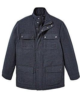 W&B Indigo Padded Coat Regular