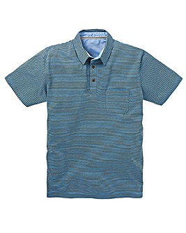 Jersey Stripe Polo Shirt Regular