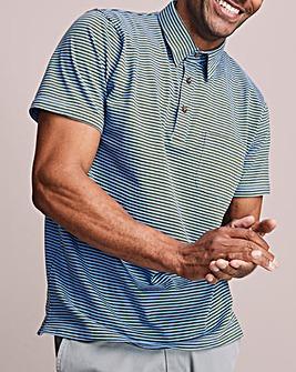 Jersey Stripe Polo Shirt Regular