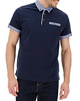 Contrast Trim Polo Shirt R