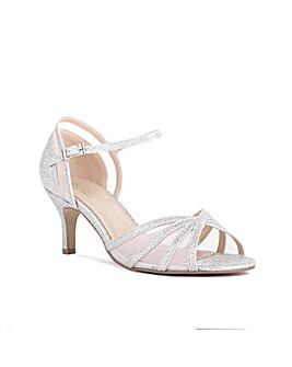 Paradox London Sonya Wide E Fit Sandals