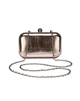 Alice Pewter Clutch Bag