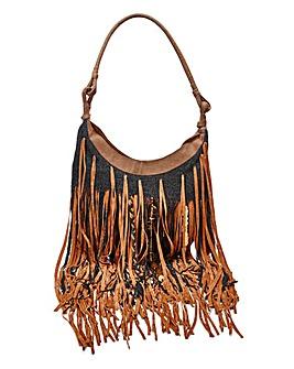 Long Fringing Shoulder Bag