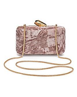 Coast Wray Velvet Box Clutch Bag