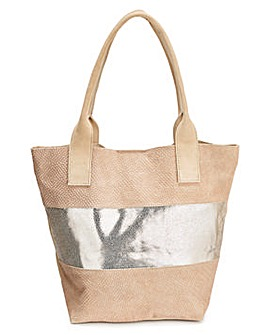 Joanna Hope Suede Shopper Bag