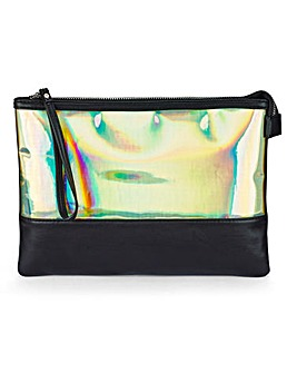 Irridescent Clutch Bag