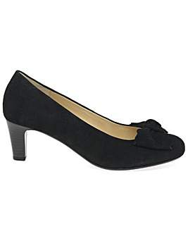 Gabor Orianna Womens Suede Court Shoes