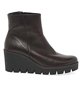 Gabor Utopia Womens Wedge Ankle Boots