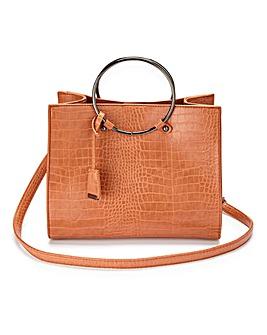 Glamorous Ring Detail Tote Bag