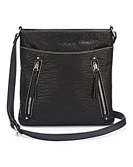 Black Slouch Messenger Bag