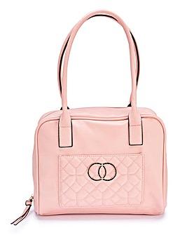 Blush Bowler Bag