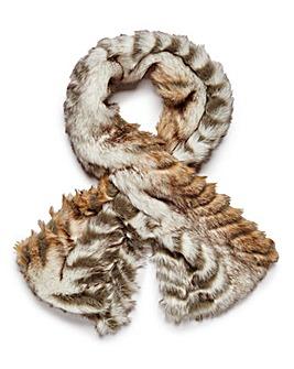 Textured Fur Stole
