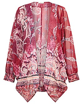Monsoon IKAT PRINT COCOON COVER UP