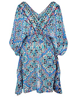 Monsoon GEO PRINT VISCOSE KAFTAN